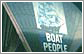 Boat people image projected on the Opera House thumbnail